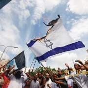 Protest against Israeli attack on Gaza in Dhaka