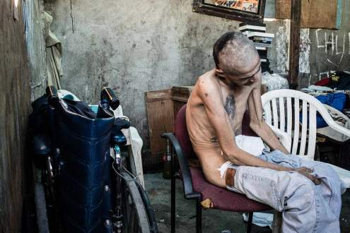 deported migrant drug addicted, Tijuana