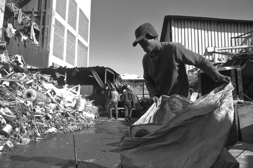 Johannesburg waste picker