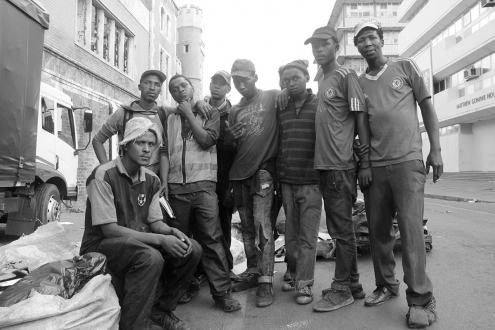 Johannesburg waste pickers